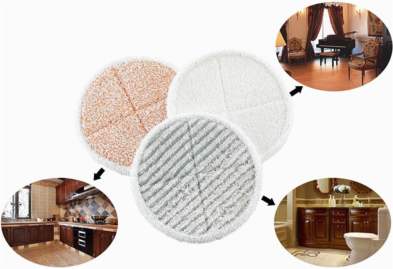 Amazon Deko Für Badezimmer Mop Ersatz Pads Für Bissell Spinwave 2039 Eine 2124 Hard