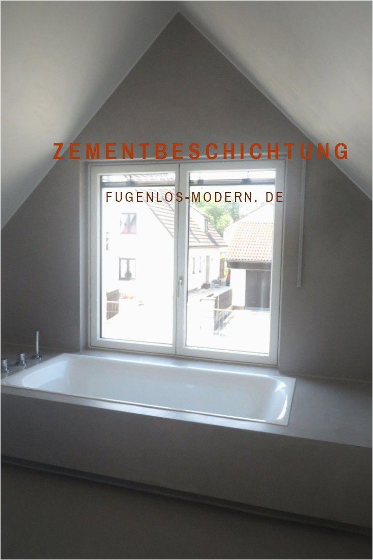 Badezimmer Fliesen Abdichten Bad In Mansarde Wasserbeständige Zementbeschichtung An