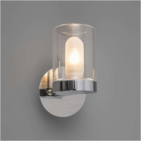 Badezimmer Lampe Glas Badezimmer Spot Giulia 1 Chrom