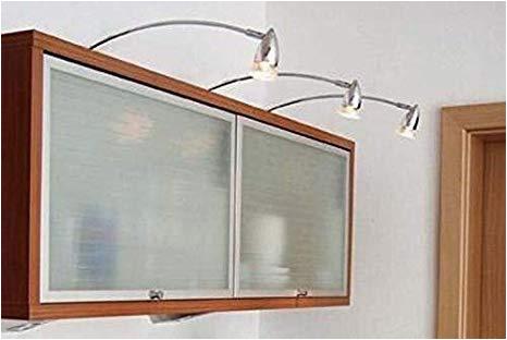 Badezimmer Lampe Ohne Erdung Moderne Schrankaufbauleuchte 3er Set Pilas Möbelleuchte