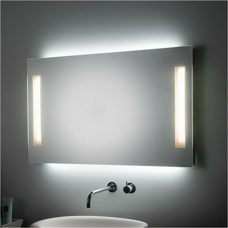Badezimmer Spiegel Beleuchtung Spiegelbeleuchtung Im Badezimmer – 45 Inspirierende