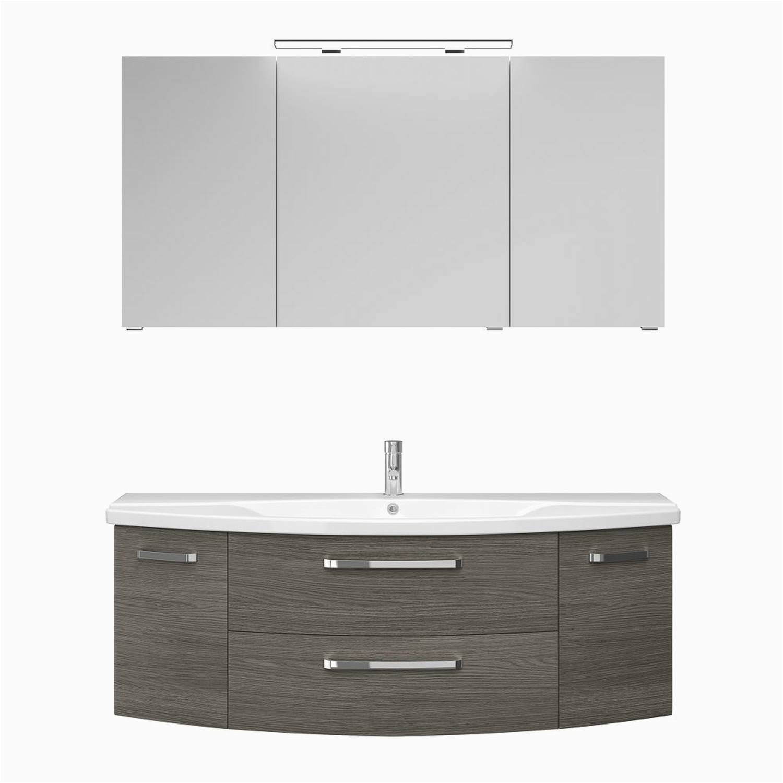 Badezimmermöbel Graphit Badezimmer Waschbecken Mit Unterschrank Und Spiegelschrank