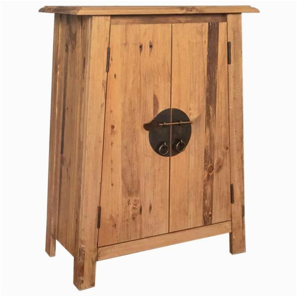 Badezimmerschrank 80 X 80 Badezimmerschrank Recyceltes Massivholz Kiefer 59—32—80 Cm