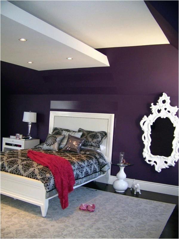 Dekoration Schlafzimmer Lila Schlafzimmer Wandfarbe Ideen