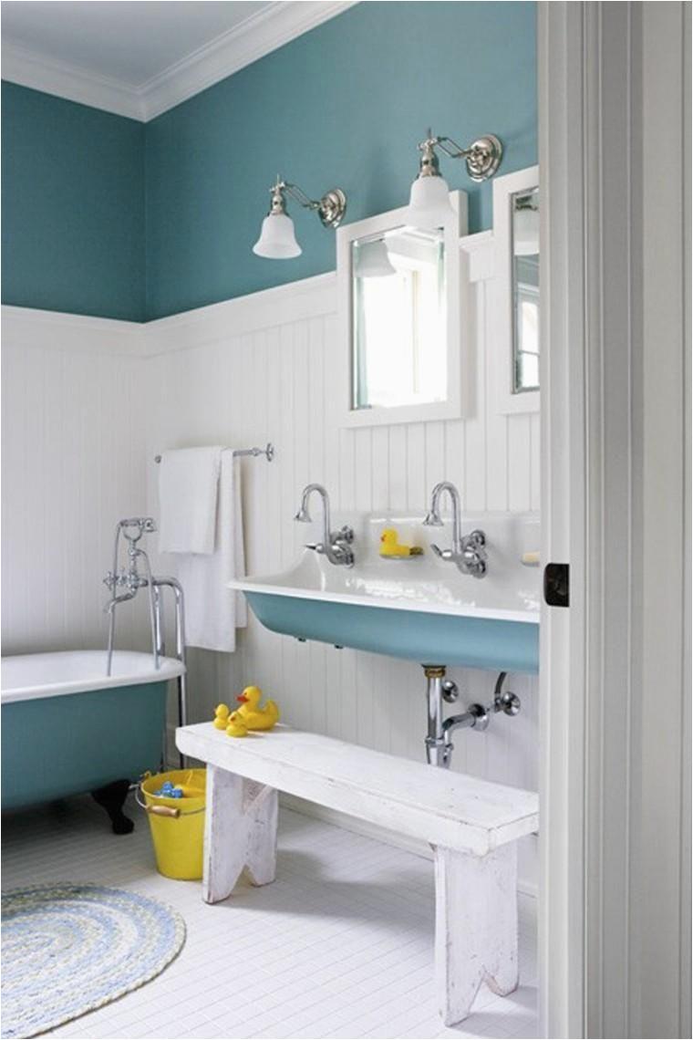 Kinder Badezimmer Deko Farbbäder Idealen Farbtöne Für Das Badezimmer