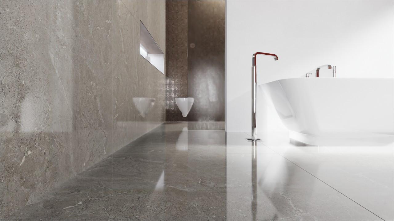 Unglasierte Fliesen Badezimmer Boden Und Wandfliesen Trend Glänzend Charakter 120 X 120 Cm