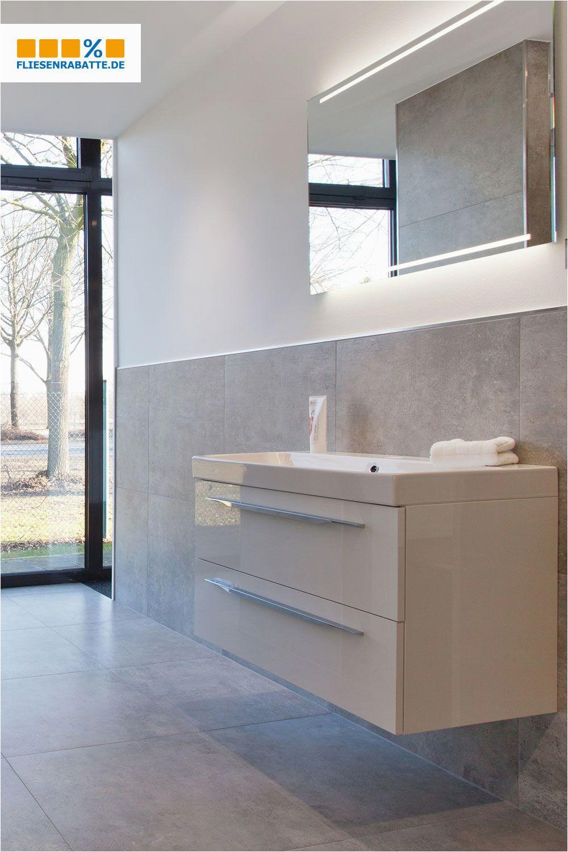 Xxl Fliesen Badezimmer Hell Zeitlos Freundlich Betonoptik Mit Ihrem Modernen
