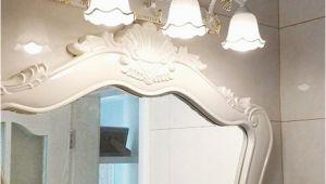 Antike Badezimmer Spiegel Großhandel Antike Led Spiegel Lampe Wand Lampe toilette Badezimmer Schrank Anti Nebel Lichter Led Retro Make Up Spiegel Lampe Bronze Schlafzimmer