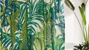 Badezimmer Deko Dschungel Slide View 1 Dreamy Jungle Shower Curtain