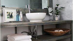 Badezimmer Deko Xxl Diy Vanity In Renovated Bathroom