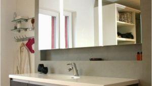 Badezimmerschrank Beleuchtung Badmöbel Mit In Wand Eingebautem Spiegelschrank Wand In