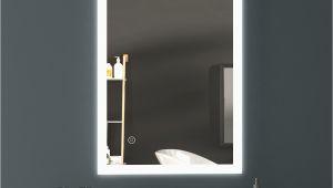 Badezimmerspiegel Beleuchtet Nach Mass Details Zu Led Spiegel Badezimmerspiegel Lichtspiegel Wandspiegel touch Beschlagfrei 50×70