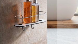 Badezimmerspiegel Zum Kleben Duschablage Ohne Bohren Mit Haken