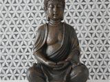 Buddha Badezimmer Deko Buddha Skulptur H 30 Cm