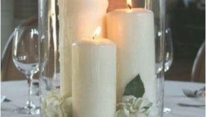 Deko Badezimmer Kerzen Große Hurrikanvase Mit Kerzen Steinen Und Gardenien