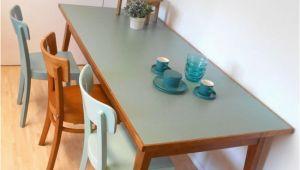 Esstisch Schmale Platte Objekt Werktisch Küchentisch Gesch Alter Gestell