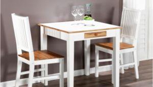 Kleiner Küchentisch Mit 2 Stühlen Unterschied Esstisch Klein Ausziehbar Erweiterbar Weiss Neu Modern