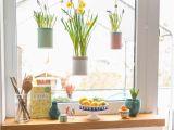 Küche Dekoration Ideen Fenster Deko Fruhling