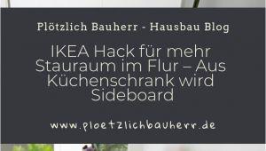 Organisation Küchenschrank Garderobe Ikea Hack
