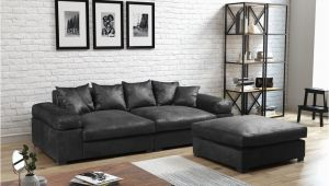 Sofa Design for Tv Lounge Big sofa Megasofa Riesensofa arezzo Vintage Schwarz Inkl Hocker