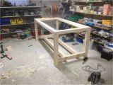 Tisch Unterkonstruktion Bauen Werktisch